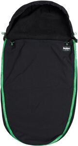 The Buppa Brand Softshell Fußsack, All Black Green