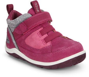 ECCO Biom Mini Sneaker, Red Plum/Simba