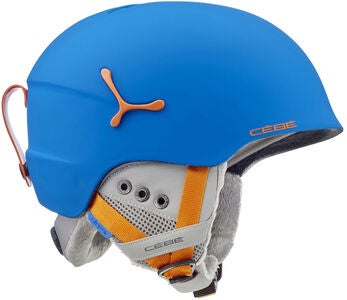 Cébé Suspense Deluxe Skihelm, Blue/Orange