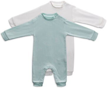 Tiny Treasure Maxime Overall 2er-Pack, Opal Blue