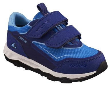 Viking Evanger Low GTX Sneaker, Dark Blue/Blue