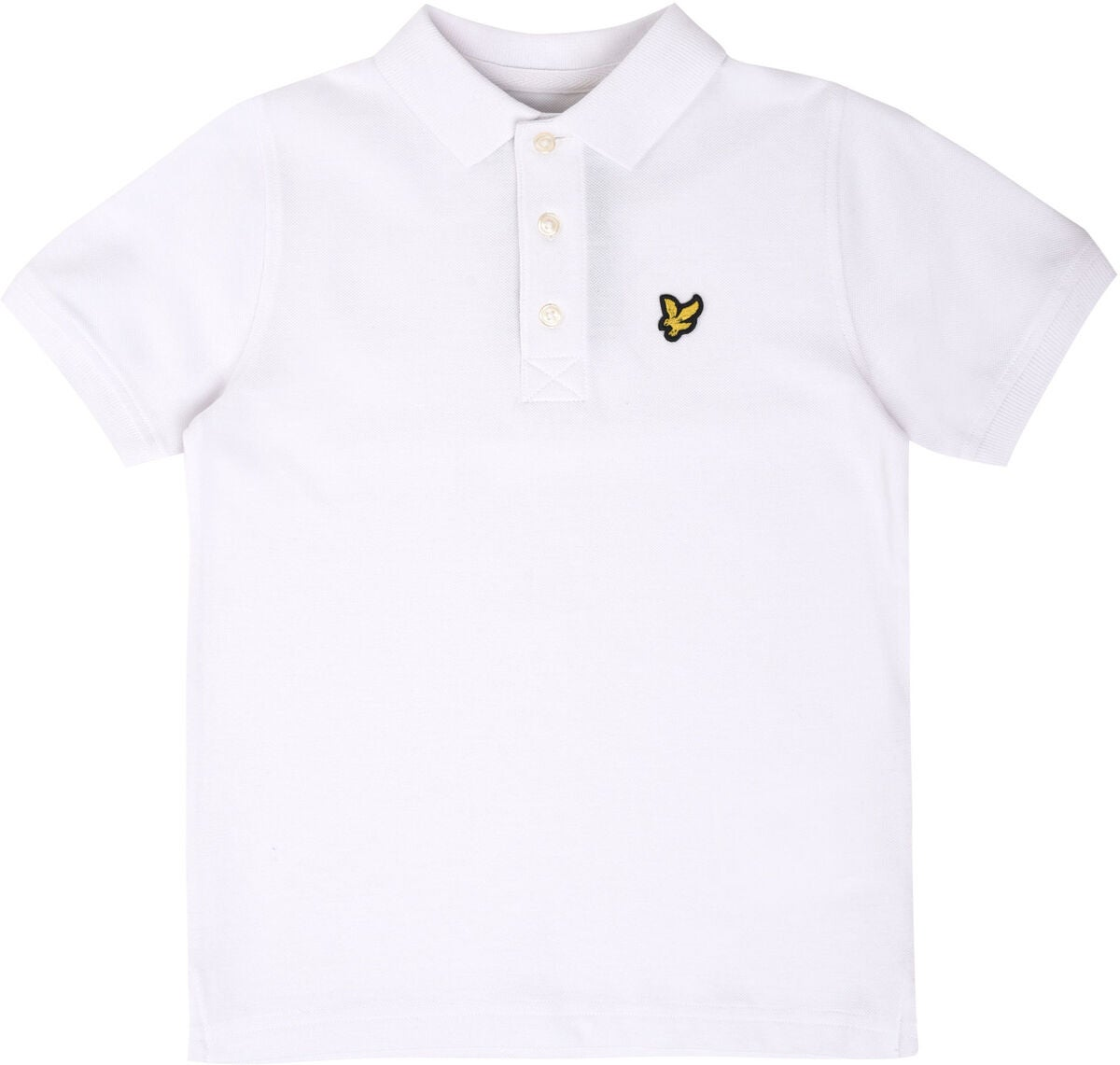 Lyle & Scott Junior Classic Poloshirt, Bright White