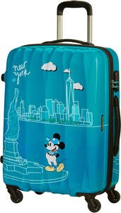 American Tourister Alfatwist Spinner Reisetasche 62.5 l, Take Me Away Mickey NYC