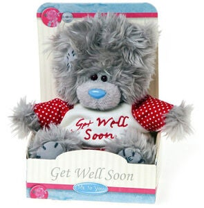 Me To You Kuscheltier Teddy Get Well Soon 13 cm