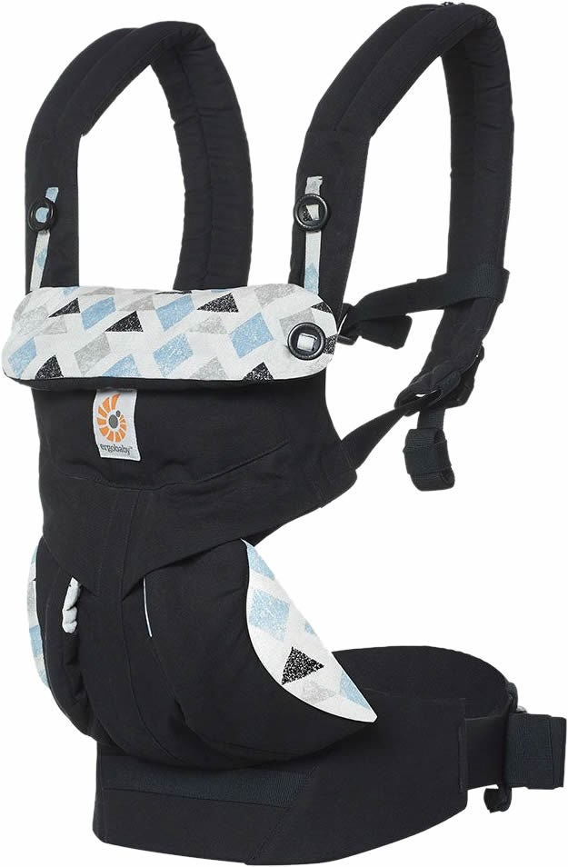 Ergobaby 360 Babytrage Triple Triangles, Schwarz