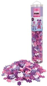Plus-Plus Tube Glitter Mix 240 Teile