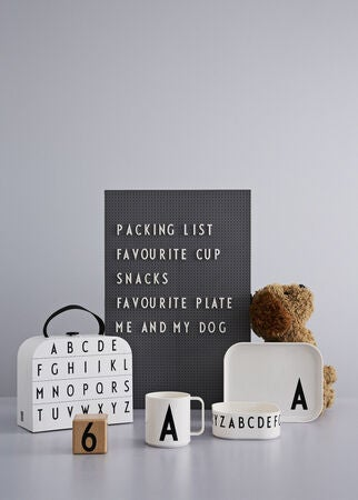 Design Letters Tritan Tableware Giftbox G