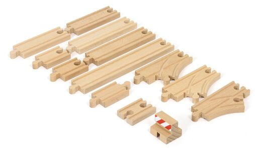 BRIO World 33394 Schienen Starter Pack B