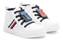 Tommy Hilfiger High Top Sneaker, White