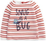 Tom Joule Pullover, Red Stripe Snug Bug