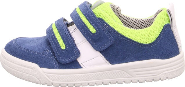 Superfit Earth Sneaker, Blue/Green