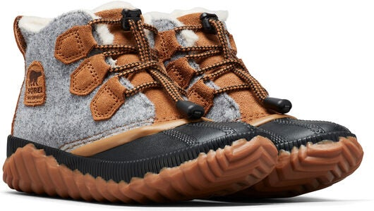 Sorel Youth Out N About Plus Stiefel, Quarry/Camel Brown