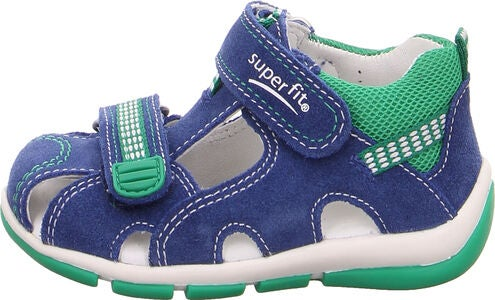 Superfit Freddy Sandalen, Blue/Green