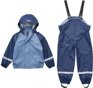 Helly Hansen Bergen Regenanzug, North Sea Blue