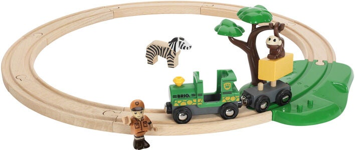 BRIO World 33720 Safari Bahn Set