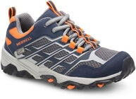 Merrell Moab FST Low Sneaker, Navy/Orange
