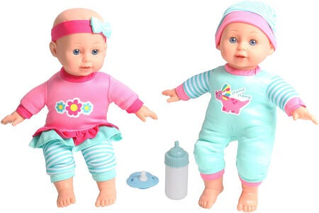 Dream Collection Zwillinge Ella & Ebba Puppenset 30 cm