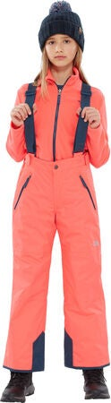 The North Face Snowquest Suspender Plus Thermohose, Rocket Red