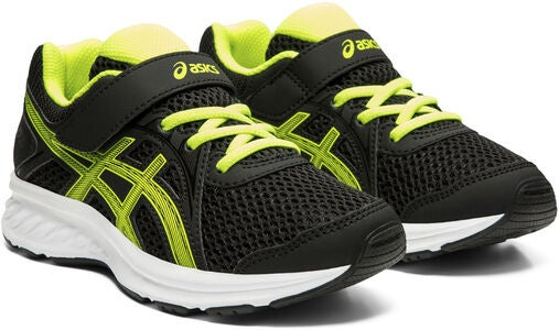 Asics Jolt 2 PS Sneaker, Black/Safety Yellow