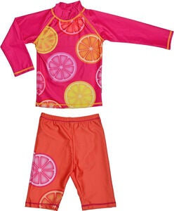 Swimpy UV-Set, Pink Lemon