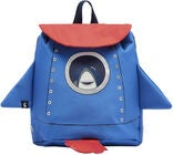 Tom Joule Buddie Rucksack, Blue Red Rocket
