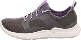 Superfit Thunder Sneaker, Grey/Purple