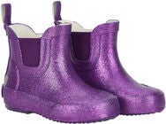 CeLaVi Wellies Short Glitter Gummistiefel, Royal Purple