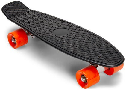 Impulse Skateboard, Schwarz