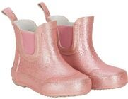 CeLaVi Wellies Short Glitter Gummistiefel, Misty Rose