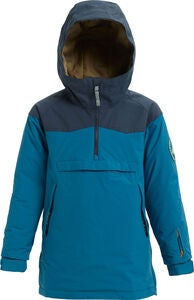 Burton Boys Hightrack Anorak, Celestial/Mood Indigo