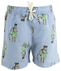 Pettersson & Findus Badehose, Light Blue