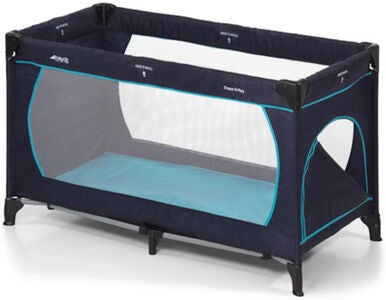 Hauck Reisebett Dream'n Play, Navy/Aqua