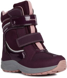 Geox New Alaska WPF Winterstiefel, Purple/Pink