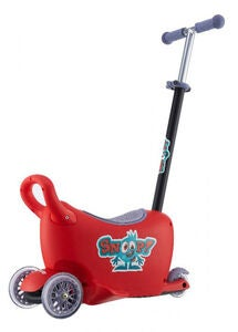 Milly Mally Snoop! Laufauto 3-in-1, Rot