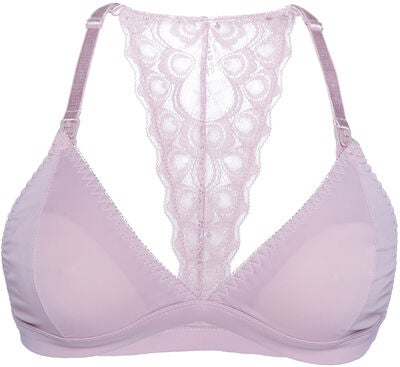 Milki Soft Lace Still-BH, Dusty Pink
