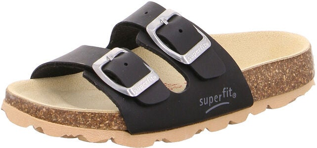 Superfit Fussbett Sandalen, Black