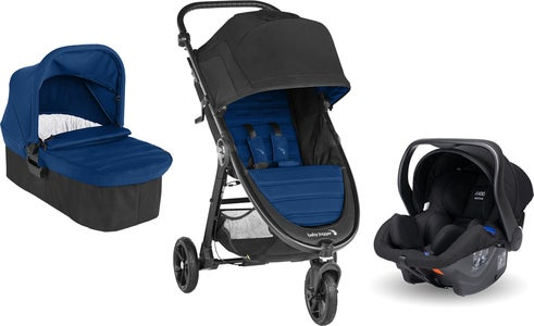Baby Jogger City Mini GT 2 Buggy inkl. Babyschale, Adapter und Babywanne, Winsor