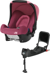 Britax baby-Safe Babyschale inkl. Basisstation, Wine Rose