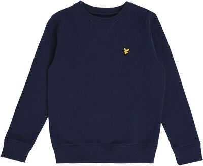 Lyle & Scott Junior Classic Pullover, Navy Blazer