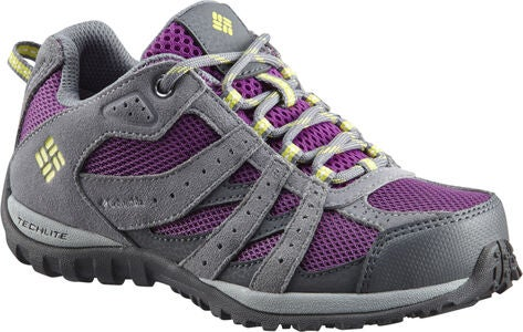 Columbia Youth Redmond Turnschuhe, Plum/Kiwi