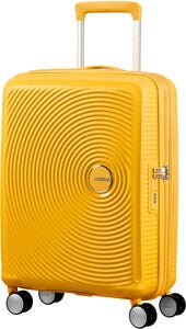 American Tourister Soundbox Spinner Reisetasche 35.5 l, Golden Yellow