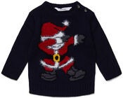 Luca & Lola Pullover Santa Moves, Night Sky