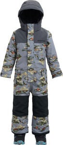 Burton Boys Minishred Striker Overall, Survivalist/Trocadero