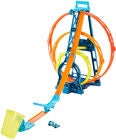 Hot Wheels Track Builder Unlimited Triple Loop Autorennbahn