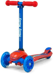 Milly Mally Scooter Zapp, Blau