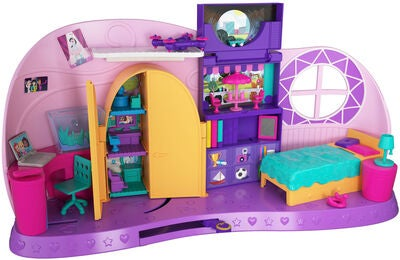 Polly Pocket Polly's Go Tiny! Spielset Zimmer Micro