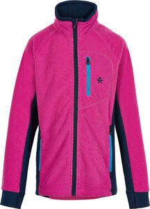 Color Kids Fleecejacke, Rose Violet