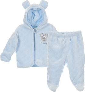 Disney Mickey Maus Set Pullover & Hose, Light Blue