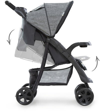 Hauck Shopper Buggy Neo ll, Melange Grey