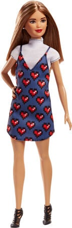 Barbie Fashionistas Puppe Wear Your Heart